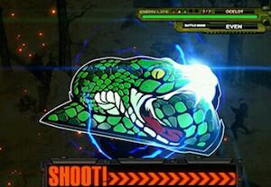 蛇を狙え演出