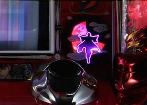 リール右のランプ点灯
