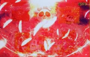 羽根フラッシュ(赤)